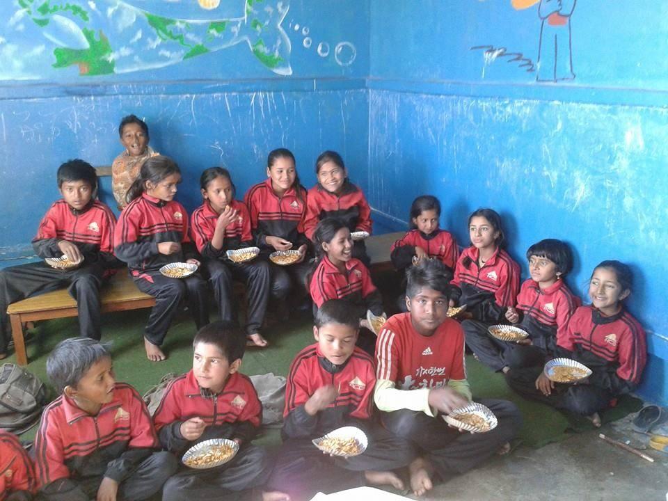 School uniforms charity project.