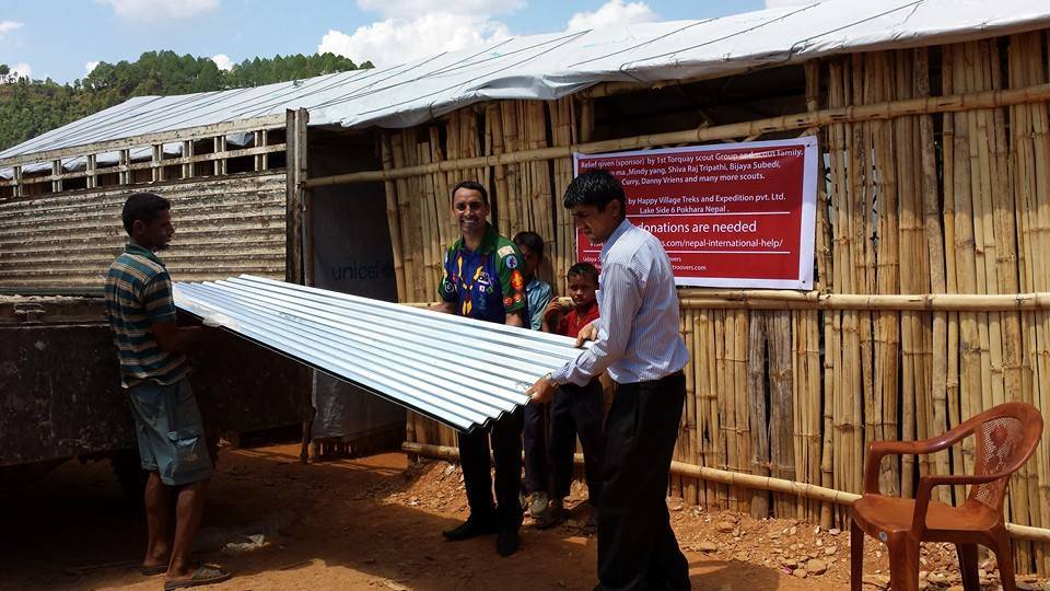 Nepal Earth Quake Relief - New Roof