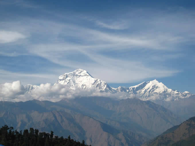 View from Ghorepani