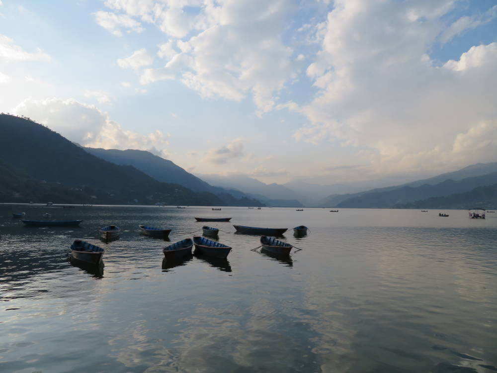 Phewa Lake of Pokhara